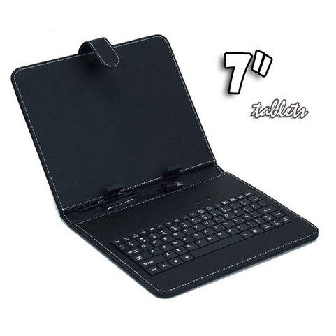 Funda con teclado para tablet 7 usb - Funda tablet con teclado 7 ...