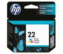 Cartucho HP 22 Color Original