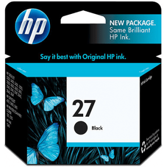 Cartucho HP 27 Negro Original