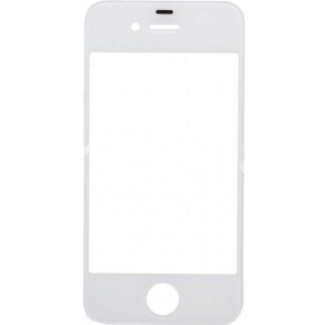 Cristal frontal iPhone 4 blanco