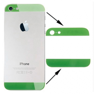 EMBELLECEDOR VERDE IPHONE 5