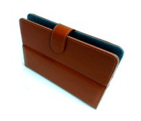 "FUNDA CARTERA 10.1"" MARRON"