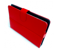 "FUNDA CARTERA 10.1"" ROJA"