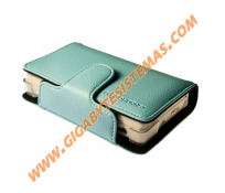 NDS Lite Colored Leather Case *BLUE*