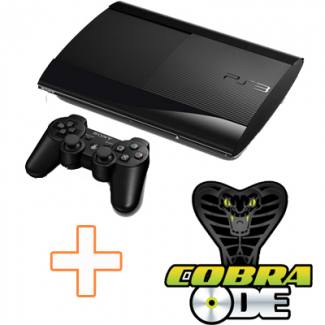 PS3 Super Slim 12 GB + COBRA ODE
