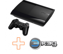 PS3 Super Slim 500 GB + 3K3Y