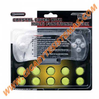 PSP 3000 Crystal Cover with Multi Functional Stick