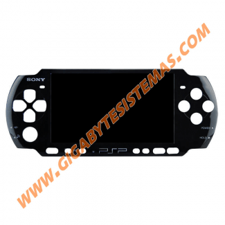 PSP 3000 Face Plate OFFICIAL *BLACK*