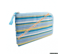 PSP SLIM Stripe Cloth Bag *Blue*