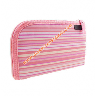 PSP SLIM Stripe Cloth Bag *PINK*