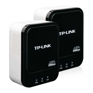 TP-Link TL-PA101 Starter Kit 85Mbps Powerline Ethernet Adapter