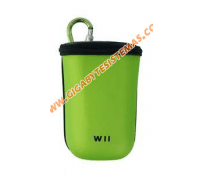 Wii Remote Controller Pad Aiifoam Pocket *APPLE GREEN*