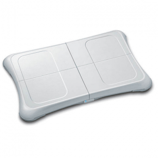 Tabla Wii Fit Compatible *Blanca + Skateboard + Batería Wii Fit